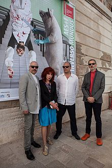 AES+F_in_Venice,_2015