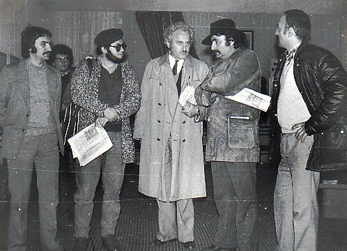 15 1985 Tirgu Neamt, Corbu, eu, Marin Mincu, Dan David si...